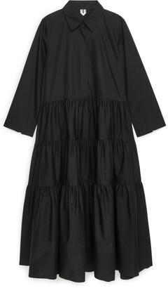 Arket Tiered Shirt Dress