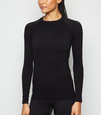 New Look Seamless Long Sleeve Sports Top