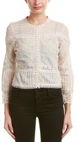 Love Sam Lace-trim Jacket.