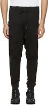 11 By Boris Bidjan Saberi Black Drawstring Lounge Pants