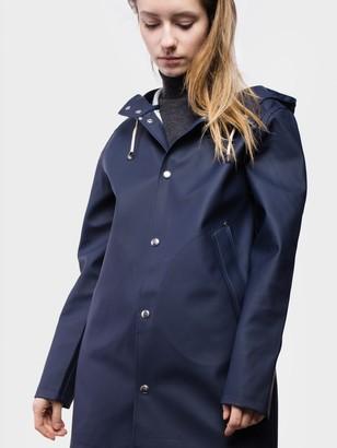 Stutterheim Navy Mosebacke Raincoat - extra small