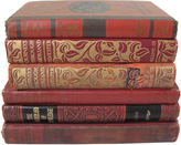 One Kings Lane Vintage Red Children's Book Collection, S/6