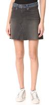 6397 Contrast Miniskirt