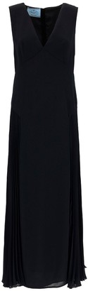 Prada V-Neck Sleeveless Dress