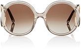Chloé Women's Jackson Round Sunglasses-TAN, NO COLOR