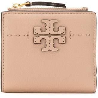 Tory Burch McGraw mini foldable wallet