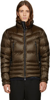 Moncler Green Down Canmore Jacket