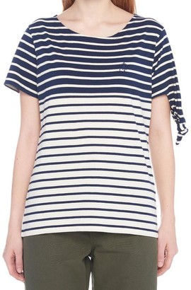 J.W.Anderson Striped Jersey T-Shirt