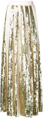 Temperley London sequinned maxi skirt