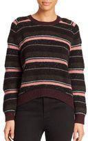 J Brand Ramona Striped Wool-Blend Sweater