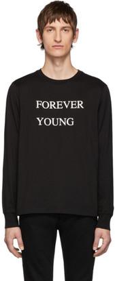 TAKAHIROMIYASHITA TheSoloist. Black Forever Young Long Sleeve T-Shirt