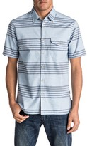 Quiksilver Men's Srut Box Stripe Woven Shirt