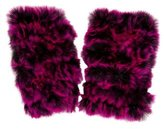 Jocelyn Fur Knit Arm Warmers w/ Tags