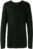 BLK DNM crew neck jumper - men - Silk/Cashmere - S