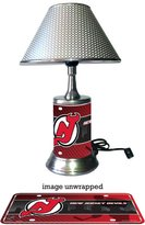 Rico New Jersey Devils Lamp with chrome shade