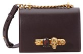 Alexander McQueen Jeweled satchel shoulder bag