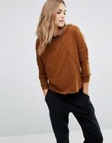 Vero Moda Seam Detail Slouchy Sweatshirt
