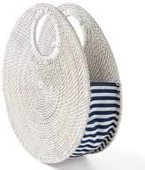 Circle Rattan Handbag