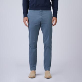 DSTLD Skinny Slim Stretch Chino Pants in Slate