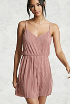Forever 21 Pleated Mini Dress