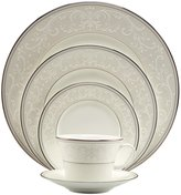 Nikko Pearl Symphony Scroll Bone China 5-Piece Place Setting