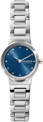 Skagen Freja Stainless Steel Crystal Bracelet Watch