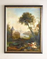 "John-Richard Collection The Castle's Pasture"" Giclee"