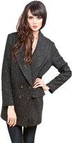 Rachel Comey Cabot Coat in Charcoal