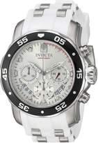 Invicta Men's 20290 Pro Diver Analog Display Quartz White Watch