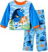 Disney Pixar Finding Dory Toddler Boy Fleece Pajama Set