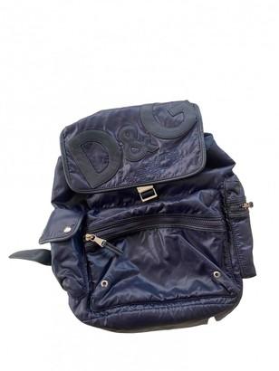Dolce & Gabbana Blue Polyester Backpacks