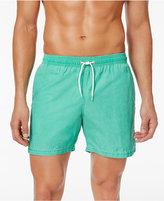 Barbour Men's Victor Slim-Fit Green Swim Trunks