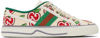 Gucci Off-White GG Apple Tennis 1977 Sneakers