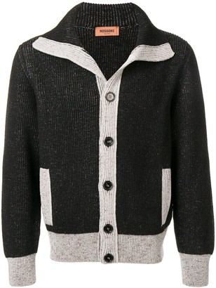 Missoni Contrast Trim Cardigan