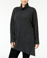 Rachel Roy Curvy Trendy Plus Size Turtleneck Tunic Sweater, Only at Macy's