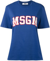 MSGM logo printed T-shirt - women - Cotton - XS