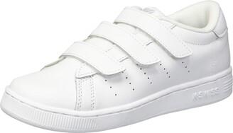 K-Swiss Baby Clean Court 3-Strap Sneaker