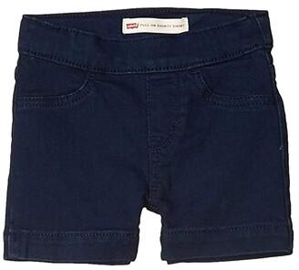 Levi's(r) Kids Pull-On Shorty Shorts (LIttle Kids) (New Rinse) Girl's Clothing