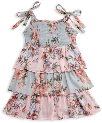 Bardot Junior Girl's Minka Tired Floral Dress