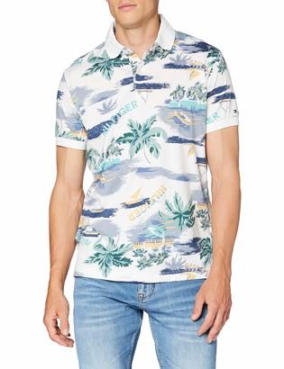 Tommy Hilfiger Men's Summer Print Regular Polo Shirt