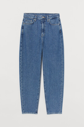 H&M Mom Loose-fit Ultra High Jeans