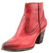 Frye Renee Seam Short Pointed Toe Synthetic Ankle Boot.