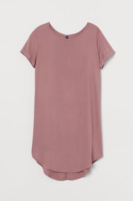 H&M Short T-shirt Dress - Pink