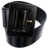 Saint Laurent Wide Waist Belt