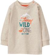 Gymboree Oatmeal 'Tiny Wild One' Graphic Tee - Infant