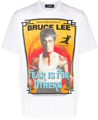DSQUARED2 Bruce Lee print T-shirt