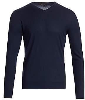 Loro Piana Men's Cashmere V-Neck Sweater