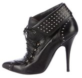 Tabitha Simmons Studded Lace-Up Booties