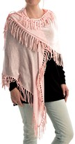 Minnie Rose Fringe Shawl - Cotton (For Women)