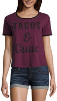 Fifth Sun Tacos & Guac Graphic T-Shirt- Junior